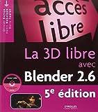 La 3D libre avec Blender 2.6