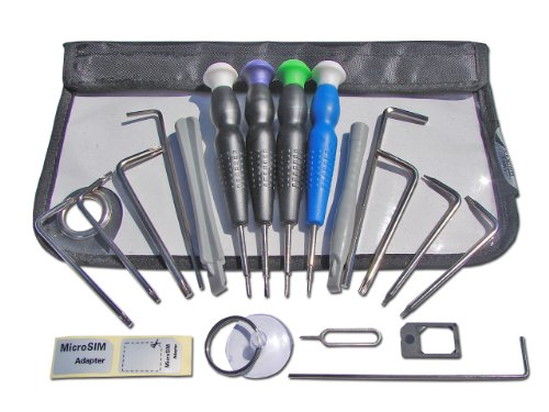 Silverhill 15 Piece Tool Kit for Apple Products