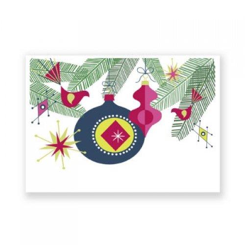 illustrierte Weihnachts-Postkarte