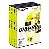 Sony DPW 120AVD - DVD+RW - 4.7 GB 1x-4x compatible - DVD video box - storage media