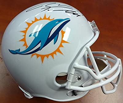 Ryan Tannehill Autographed Miami Dolphins Full Size Helmet Psa/dna Stock #91456
