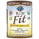 Garden of Life Organic Meal Replacement - Raw Organic Fit Vegan Nutritional Shake for Weight Loss, Chocolate, 16oz (1lb/461g) Powder