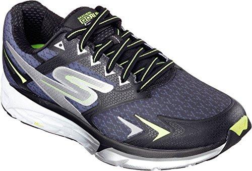 Skechers Men's Go Run Forza Running Shoes Black/Lime 9.5 D(M) US