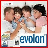 EVOLON Kissenbezug Encasing Milbenkotdicht Allergiker Allergikerbezug Milben Milbendicht (40x145 Seitenschläferkissen)