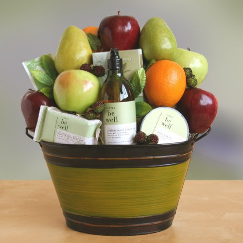Get Well Soon Healthy Spa Gift Basket | Organic