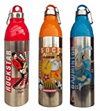 Stainless Steel Sports Water Bottle 1200ML Insulated thermostat Cold Water Drink (1 Bottle)