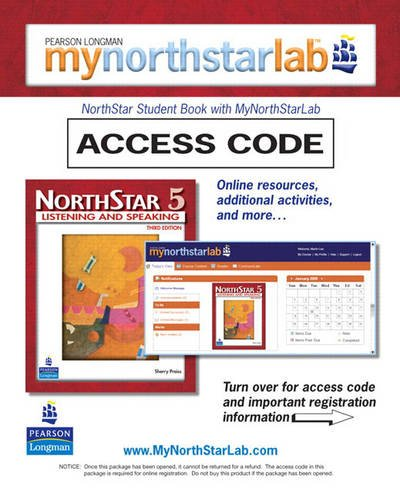 MyNorthStarLab, NorthStar Listening and Speaking 5 (Student Access Code Only)