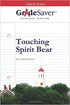 book report on touching spirit bear Essays - largest database of quality sample essays and research papers on touching spirit bear essay.