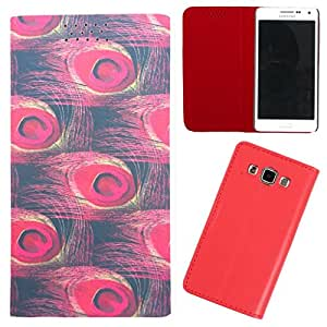 DooDa - For Lenovo A2010 PU Leather Designer Fashionable Fancy Flip Case Cover Pouch With Smooth Inner Velvet
