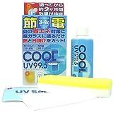 節電!窓ガラスに塗る夏の紫外線対策『節電クールプラスUV99.5 100ml』