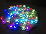 20Pc LED candle, Battery operated tea light candle- LED diya - Diwali decoration(Set of 20)