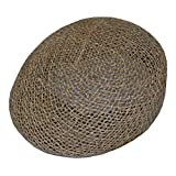 DPC Men's Twisted Seagrass Ivy Straw Cap Hat