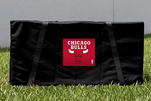 Chicago CHI Bulls Cornhole Carrying Case (Chicago Bulls Corn Hole compare prices)