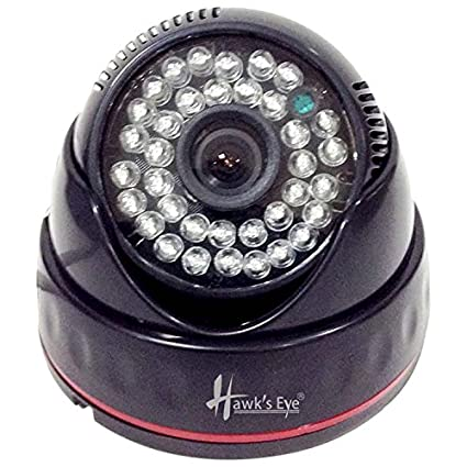Hawks Eye D58-3680-C4 800TVL IR Dome CCTV Camera