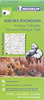 Carte Sud des rocheuses Michelin