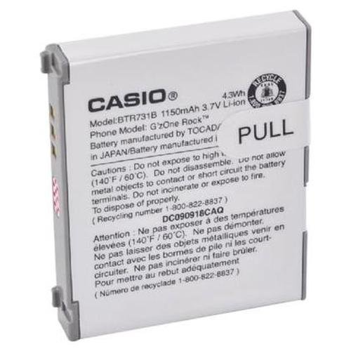 Casio Battery BTR731B G'zOne Rock 1150 mAh
