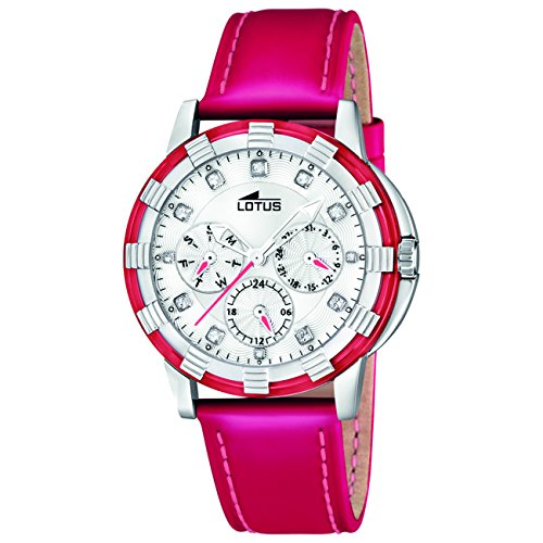 Lotus Women's Quartz Watch 15746/3 15746/3 with Leather Strap