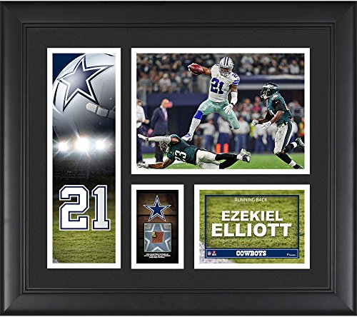 ezekiel-elliott-dallas-cowboys-framed-15-x-17-player-collage-with-a-piece-of-game-used-football-fana