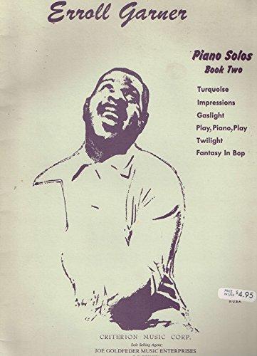 ERROLL GARNER PIANO SOLOS, Book Two Sheet Music (Erroll Garner Sheet Music compare prices)