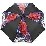 Trademark Collections Spiderman Movie Umbrella (Black)