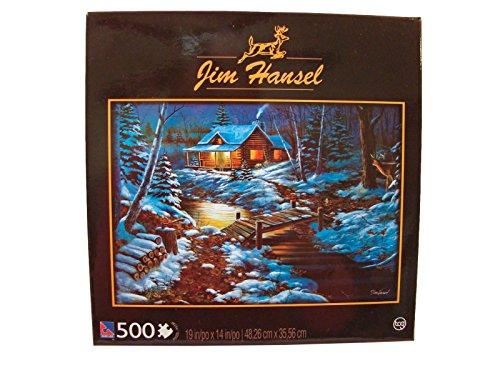 Jim Hansel 500 Piece Jigsaw Puzzle: Woodland Retreat (Black Box)