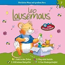 Leo Lausemaus geht in den Zirkus (Leo Lausemaus 7) Hörspiel von Maren Hargesheimer Gesprochen von: Luisa Wietzorek, Cathlen Gawlich, Dietmar Wunder