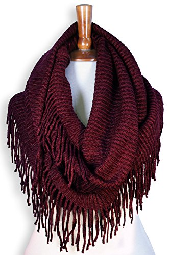 basico-women-winter-warm-knit-infinity-scarf-soft-shawl-various-colors-type-g-new-burgundy