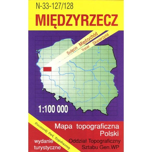 Miedzyrzecz Region Map