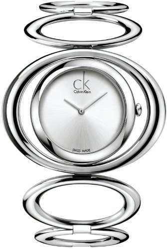 Calvin Klein Silver Analogue Ladies Watch  – K1P23120