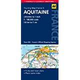 AA Road Map Aquitine (AA Touring Map France 05) (Road Map France)