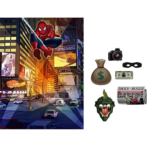 Spiderman Spider Hero Backdrop Kit
