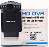 LIMTECH 16GB SDcard+ GENUINE 1080 P2.5-inch HD Car LED IR Vehicle DVR Road Dash Video Camera Recorder Traffic Dashboard Camcorder - LCD 270 degrees