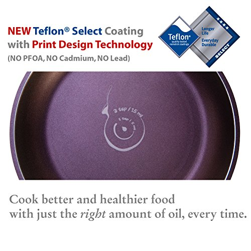 TeChef - Art Pan Collection Stir-Fry Pan, Coated 5 times with Teflon Select Non-Stick Coating (PFOA Free) (8 IN and 11 IN Set)