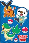 Pokemon Thank You Notes 8 Birthday Party Supplies Note Cards