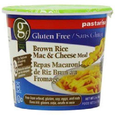 Pastariso Brn Rice Mac Cheese Cup 6X 2Oz