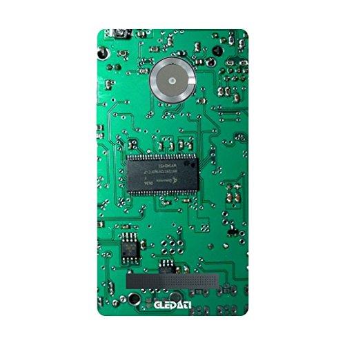 Gledati Motherboard Prog Silicon Mobile Back Cover for Micromax Yu Yuphoria