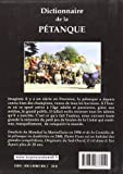 Dictionnaire de la petanque (French Edition)