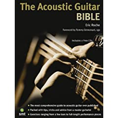 The Acoustic Guitar Bible [Import] available at Amazon for Rs.1552