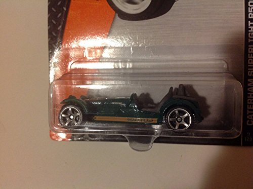Matchbox MBX Adventure City 2009 Caterham Superlight R500 Green #9/120 - 1