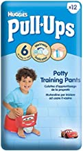Huggies Pull-Ups Potty Training Pants for Boys Size 6 Large 16-23kg 12