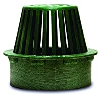 NDS 80G Atrium Grate, 6-Inch, Green from NDS, Inc.