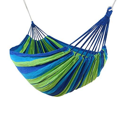 leapair-amaca-da-campeggio-giardino-per-due-persone-portata-massima-200-chili-cotone-blu