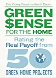 Green$ense for the Home: Rating the Real Payoff from 50 Green Home Projects