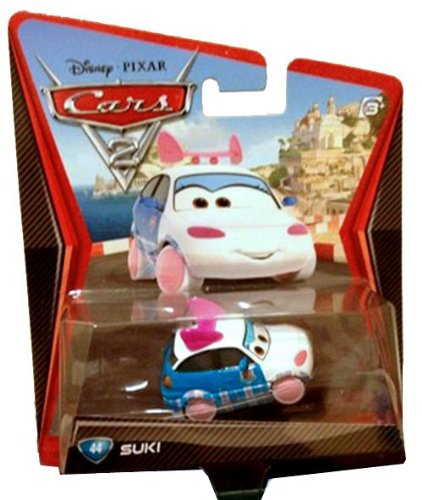 Disney / Pixar CARS 2 Movie 1:55 Die Cast Car Suki