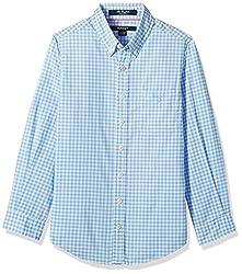 Gant Boys' Shirt (GBSHF0003_Ampard Blue_M)