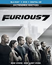 Furious 7 with Limited Time Only Free Shipping (Blu-ray + DVD + DIGITAL HD with UltraViolet)