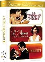 Coffret Les grandes sagas romantiques (La vengeance aux deux visages, L'amour en héritage et Scarlett)