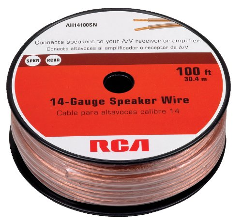 Review Of Rca AH14100SR 14-Gauge Speaker Wire (100 feet)
