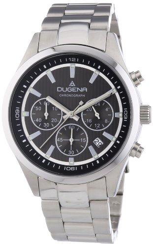 Dugena reloj de pulsera para hombre cronógrafo Cronógrafo Cuarzo Acero inoxidable 4460517
