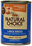 NUTRO  LARGE BREED ADULT TENDER CHICKEN & RICE Recipe Chunks in Gravy, Pack of 12